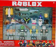 Роблокс набор фигурок из 4 героев +12 аксессуаров