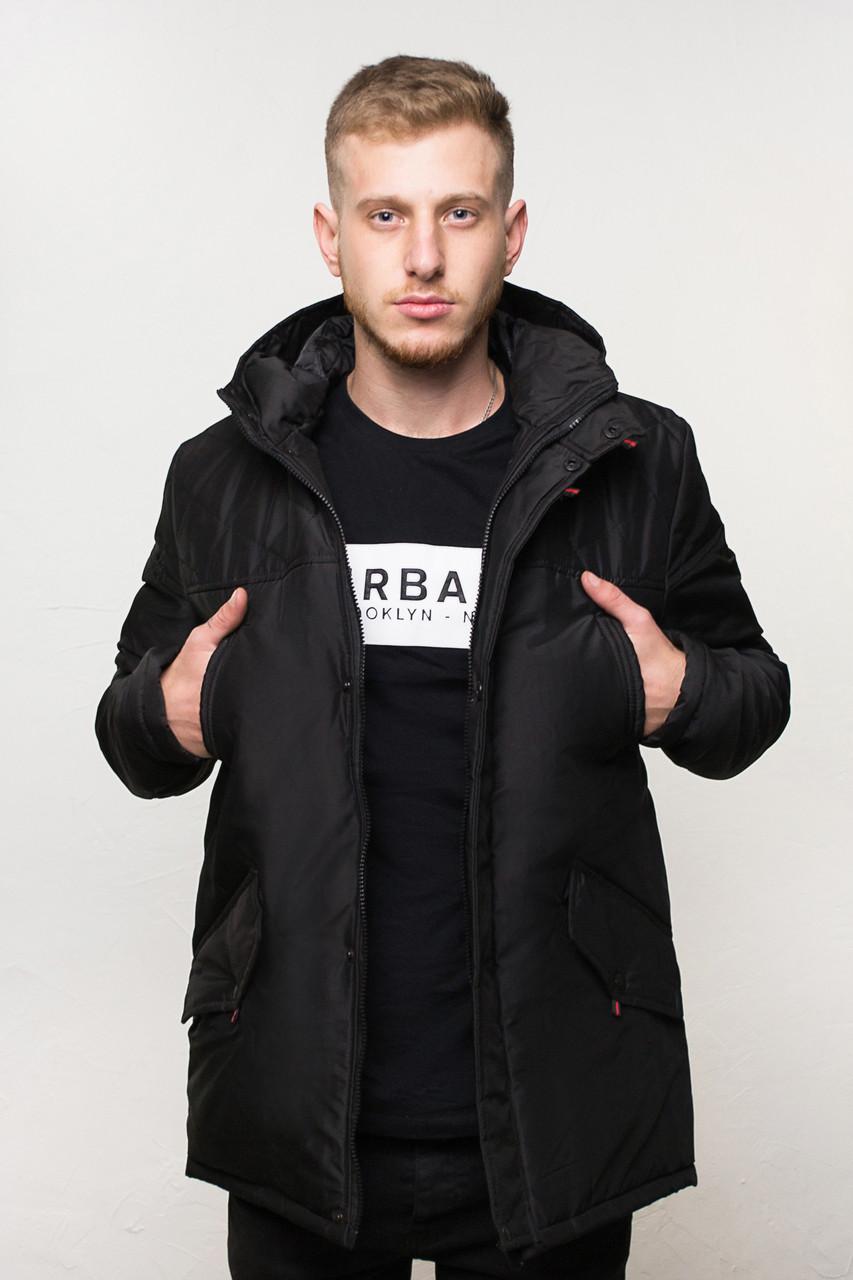 "Куртка мужская зимняя черная DarkSide ""All Black"" B. Куртка чоловіча зимова.ТОП КАЧЕСТВО!!!"