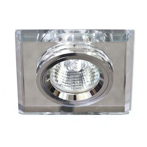 Точечный встраиваемый светильник Feron 8170-2 серебро+серебро