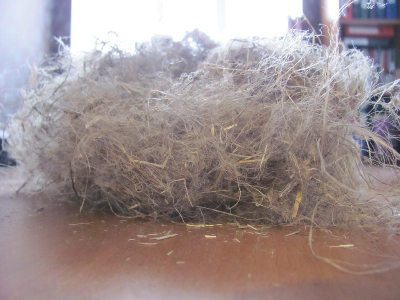 Пакля строительная материал ЛЕН  для сруба в мешках по 10 кг