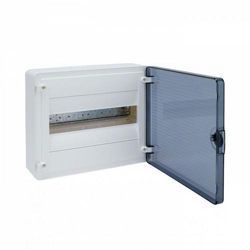 Щит для внутренней установки Hager VF112TD Golf IP41, с прозрачными дверцами, 12 мод.(1х12)