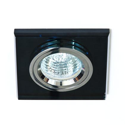 Точечный встраиваемый светильник Feron 8170-2 серый+серебро