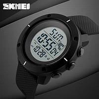 Skmei 1213 dekker  черные мужские спортивные часы, фото 1