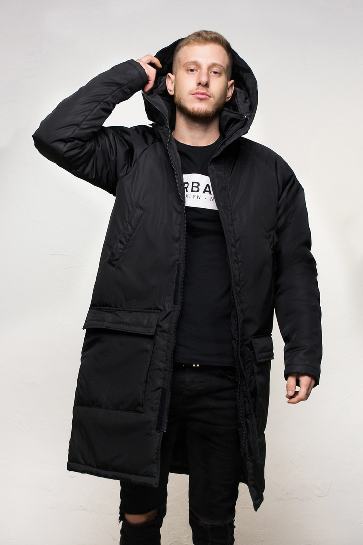 "Куртка мужская зимняя черная DarkSide ""All Black"". Куртка чоловіча зимова.ТОП КАЧЕСТВО!!!ТОП КАЧЕСТВО!!!"