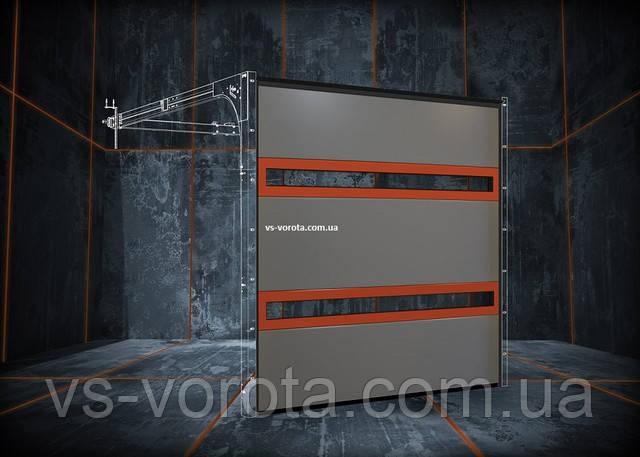 Производитель ворот и роллет в Киеве - ворота промышленные и гаражные от завода РИТЕРНА