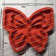 ЭКСКЛЮЗИВ! Силиконовый молд для выпечки пряника Бабочка ажурная №2