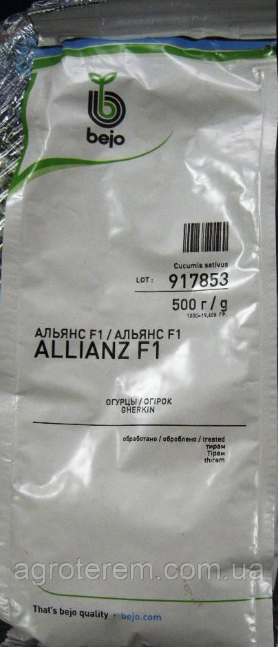 Насіння огірка Альянс (Allianz) F1 500 гр (до 11.2016)