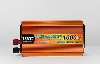 Преобразователь/автомобильный инвертор UKC AC/DC SSK 1000W 24V