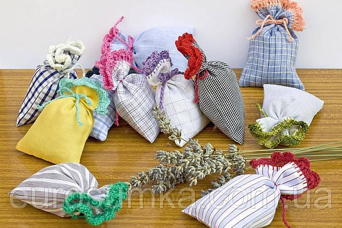 Подарочные мешочки из хлопка с узорами от 300 шт.