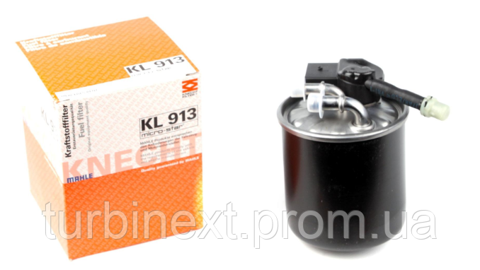 Фільтр паливний KNECHT KL 913 MB Sprinter 2.2 CDI OM651 (з датчиком)