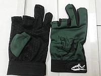 Перчатки спиннингиста  (Противоскользящие перчатки для рыбалки )