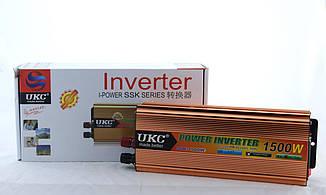Преобразователь/автомобильный инвертор UKC AC/DC SSK 1500W 24V