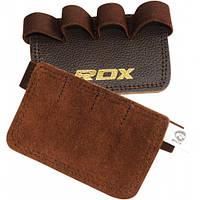 Накладки для подтягивания RDX Leather, фото 1