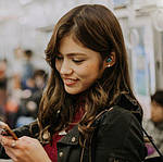 Wi-pods S7 Bluetooth 5.0 наушники беспроводные водонепроницаемые с зарядным чехлом-кейсом. Металлик Оригинал, фото 10