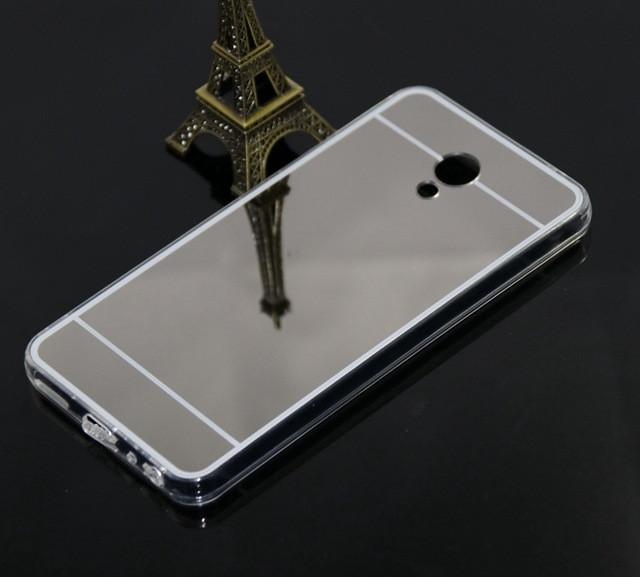 Силиконовый зеркальный чехол для Xiaomi Redmi 6a, S253