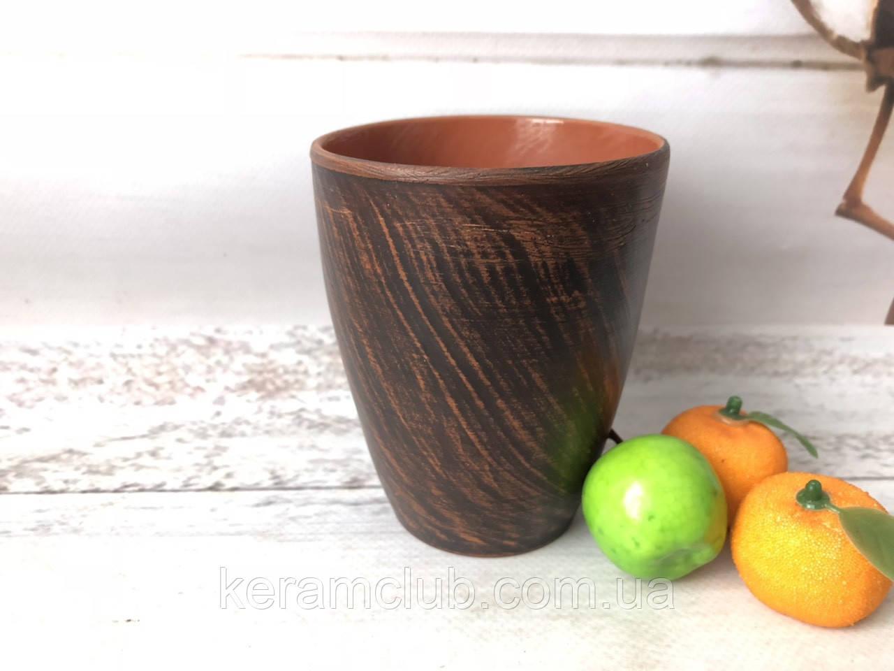 Глиняный стакан Керамклуб 300 мл