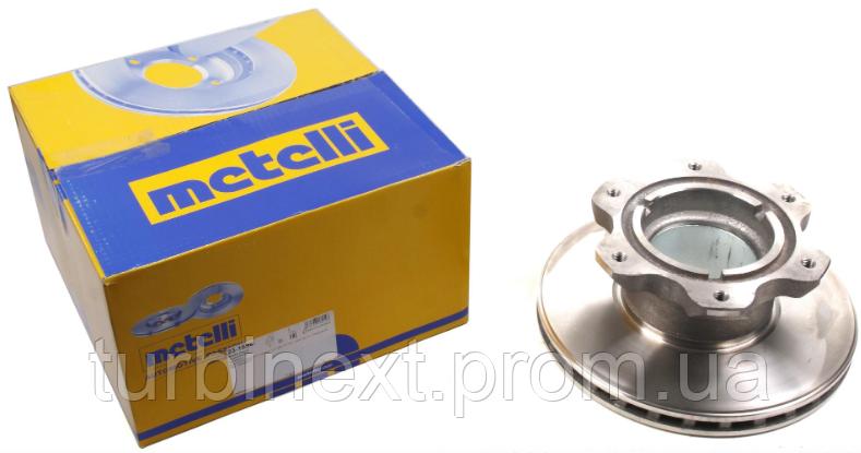 Диск гальмівний METELLI 23-1698 (задній) MB Sprinter 616CDI 01- (304х30)