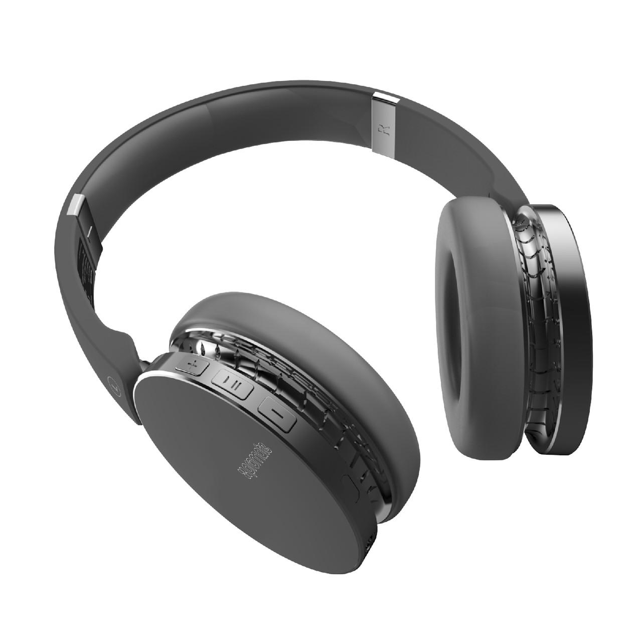 Полноразмерные Bluetooth наушники Promate Waves Black
