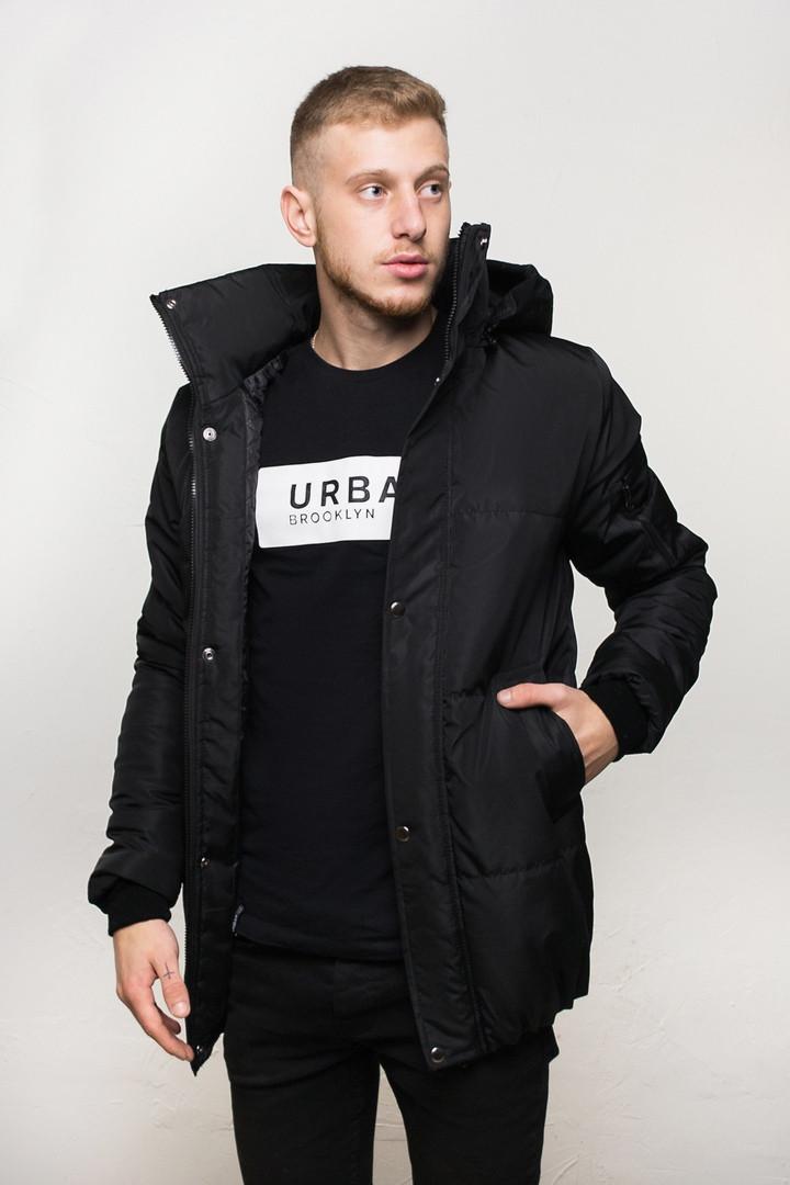 """Куртка мужская зимняя  DarkSide """"All Black"""". Куртка чоловіча зимова.ТОП КАЧЕСТВО!!!, фото 1"""