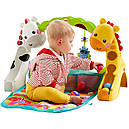 Развивающий коврик Игровой центр Растем вместе 3 в 1 Fisher Price Newborn to Toddler Gym, фото 10
