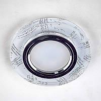 Точечный встраиваемый светильник Feron 8686-2 с LED подсветкой