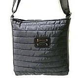 Стеганные сумки на плечо (коричневый узор)23*24см, фото 4