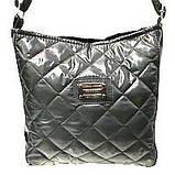 Стеганные сумки на плечо (коричневый узор)23*24см, фото 6