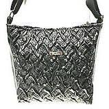 Стеганные сумки на плечо (коричневый узор)23*24см, фото 7