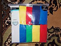 Трусики Разноцветные 9-10 лет (134-140 см,ширина - 29 см., высота - 22,5 см). Цена за 5 шт
