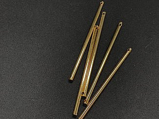 Заготовки для сережок. Колір золото. 50мм