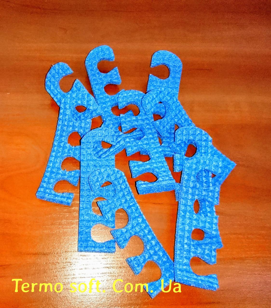 Растопырки для педикюра, разделители для пальцев ног при педикюре.СИНИЕ