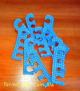 Растопырки для педикюру, роздільники для пальців ніг при педикюрі.СИНІ