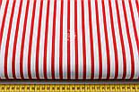 Бязь с красной полоской шириной 6 мм (№ 136а)., фото 2