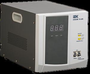 Стабилизатор напряжения Ecoline 10 кВА электронный переносной, IEK