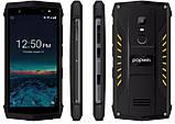 Противоударный телефон Poptel P8   2 сим,5 дюймов,16 Гб,8 Мп, 3750 мА\ч. Защита IP68, фото 2
