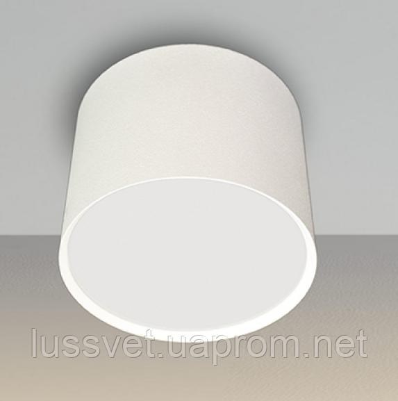 Накладной светильник цилиндр Mycom 14W черный белый