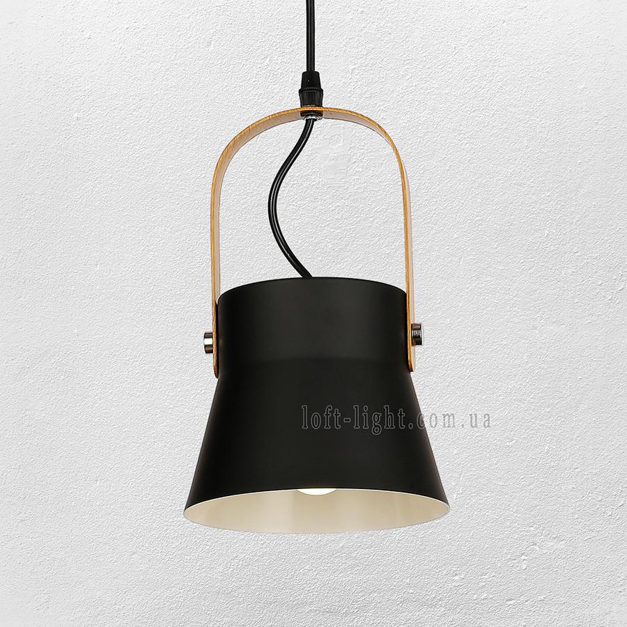 Люстра подвес лофт  56-PR99022-1 BK