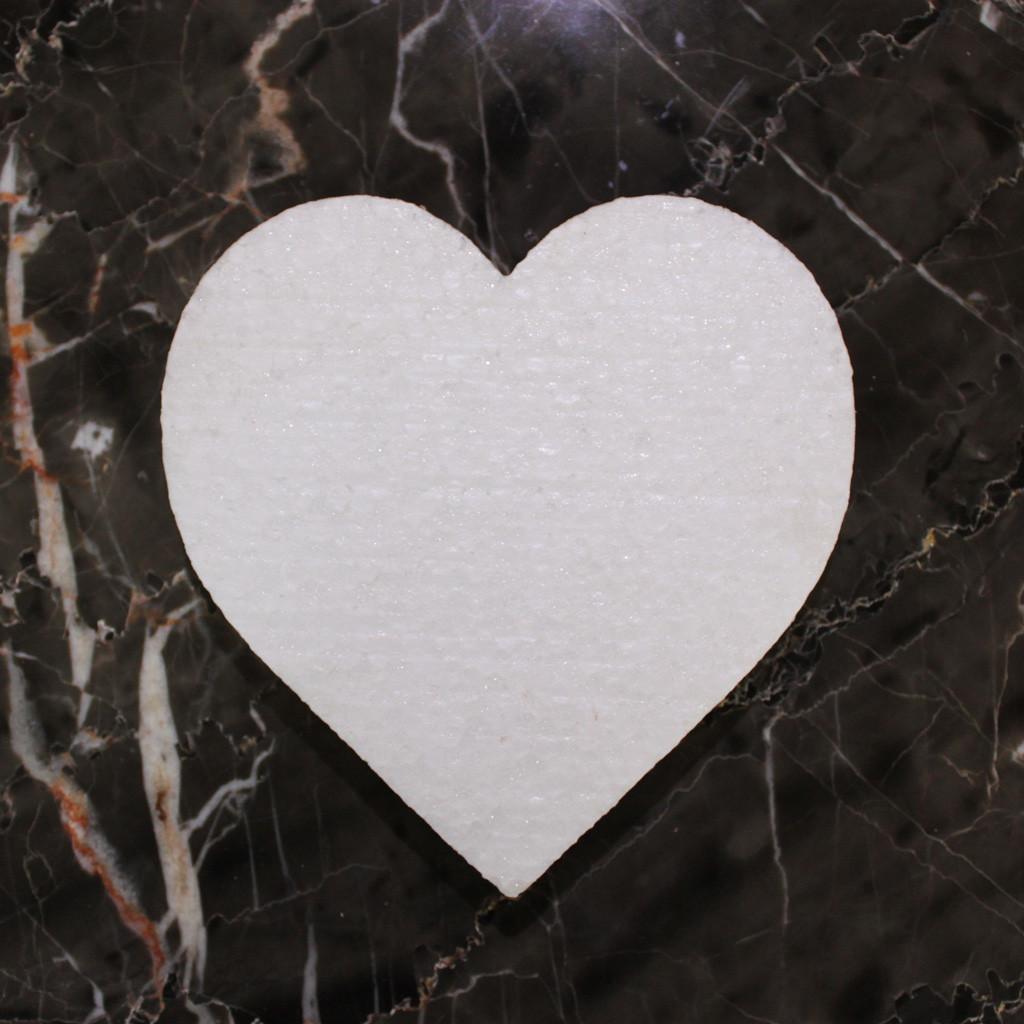 Сердце пенопластовое 15 см