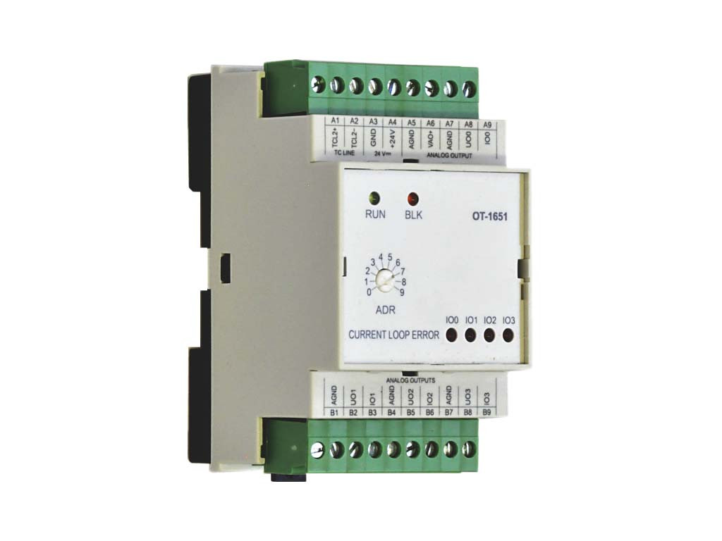 Модуль расширения с аналоговыми выходами OT-1651