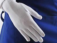 Перчатки (официант) хлопок  белые