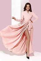 Женское платье в пол длинный рукав, фото 1