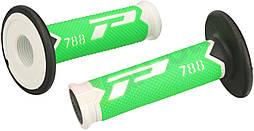 Ручки руля CROSS BLACK/GREEN/WHITE FLUORESCENT PG PA078800WVFN
