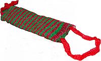 Мочалки банные АРАВИК узкая полоса 450х120мм мочалки для тела