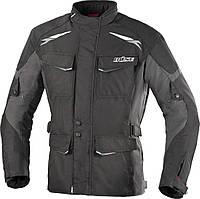 Мотокуртка текстильна Buse Lago II чорно-сіра, M