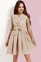 Женское платье с кружевным рукавом, фото 1
