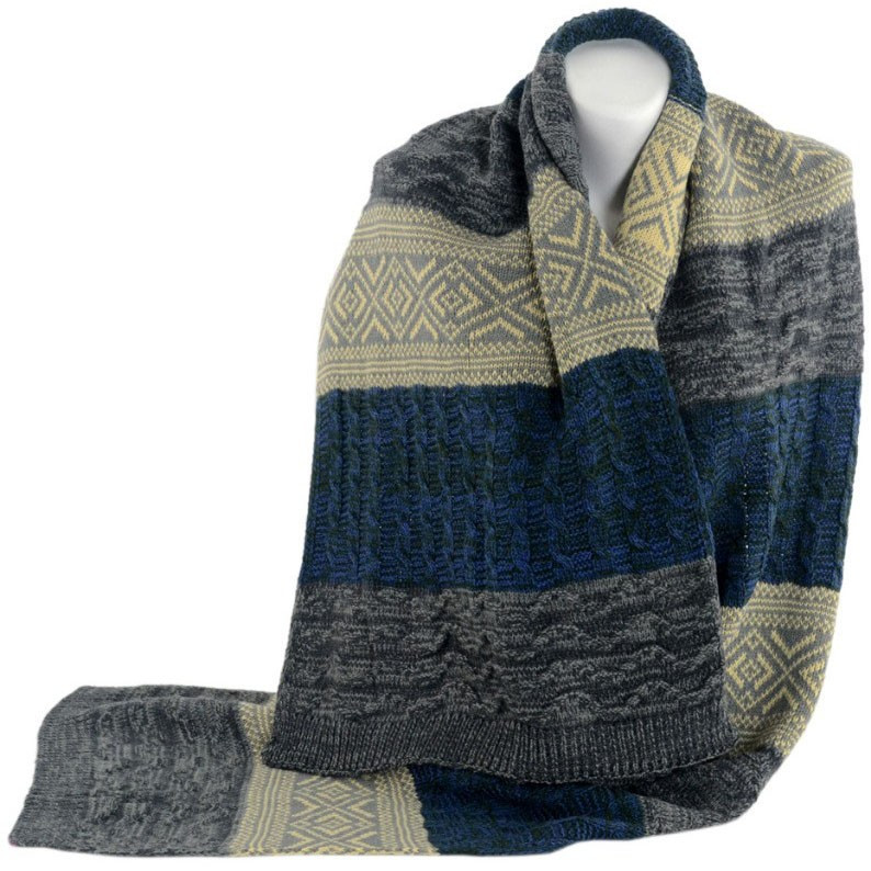 1a29682e8684 Женский цветной шарф TRAUM (2483-31)