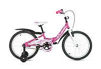"Детский велосипед Spelli PONY 18"" розовый"