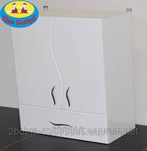 Шкаф Навесной Galaxy 35/50 см. Волна Цвет: Белый
