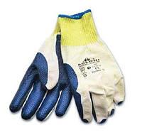 Перчатки 4502 трикотажные с нитрил. синие покрытие Долони