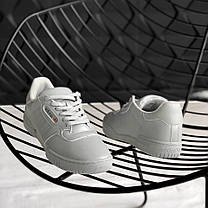 "Кроссовки Adidas Yeezy Powerphase Calabasas ""Grey"" (Серые), фото 2"
